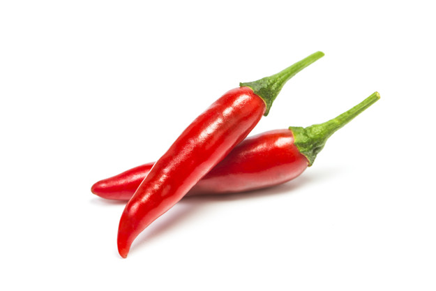 chili pepper isolated